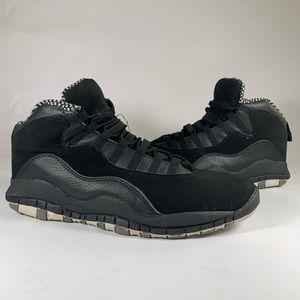 Air Jordan 10 X Stealth 310805-003 size 12